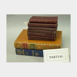 Twenty Volume Set of Harvard Classics, Thirty-nine Volumes of Temple Shakespeare, and Four Volumes of The Works of R. Browning.
