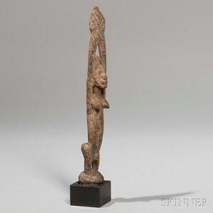 Dogon Standing Hermaphrodite Figure