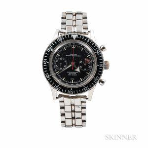 Croton Nivada Grenchen Chronograph Aviator Sea Diver Wristwatch