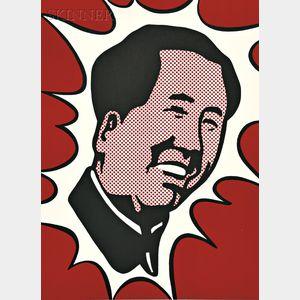 Roy Lichtenstein (American, 1923-1997)      Mao