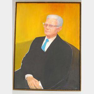 Jack Wolfe (American, 1924-2007)      Portrait of Mr. Isaac Kibrick