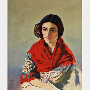 Marjorie Vickers Very (American, 1895-1985)      Portrait of Ann Ford