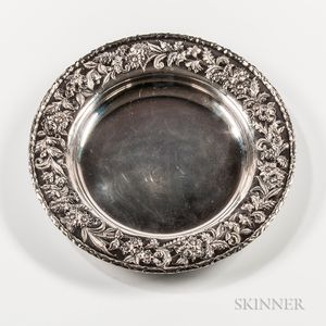 S. Kirk & Son Inc. Sterling Silver Repousse Charger