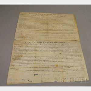 Two 1832 U.S. Land Grants