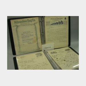 Collection of Early 20th Century Business Letterheads