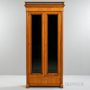 William Switzer Empire-style Tall Cabinet