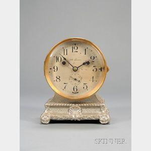 Brass Ship's Bell Shelf Clock by Seth Thomas