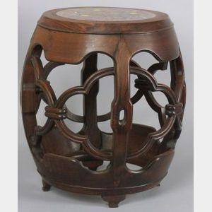 Barrel-shaped Seat