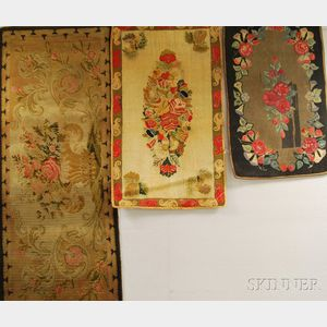 Three Floral Rugs