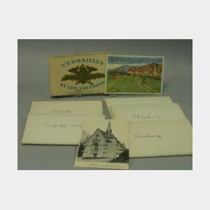 Small Collection of European View Postcards.