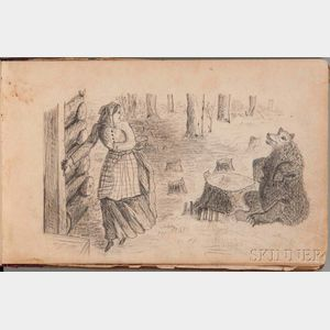 Sketchbook, Mid-19th Century.