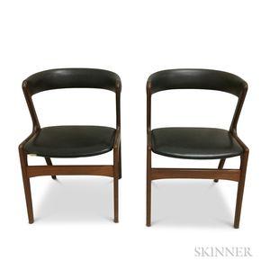 Two Kai Kristiansen Bow-back Chairs