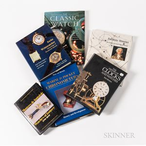 Six Wristwatch- and Watch-related Reference Books