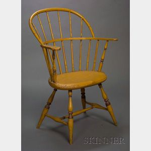 Paint-decorated Sack-back Windsor Chair