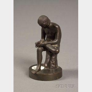 "Small ""Grand Tour"" Bronze Figure of the Spinario"