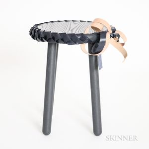 Debra Folz for Salon Design    Braided Side Table/Stool
