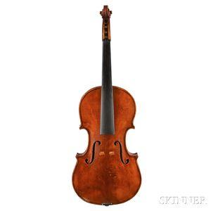 American Violin, W.G. Latimer, Hudson, 1920