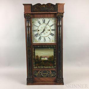 Eli & George W. Bartholomew Split Pillar Shelf Clock