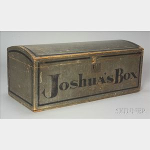 """Painted Dome-top """"Joshua's Box"""""""