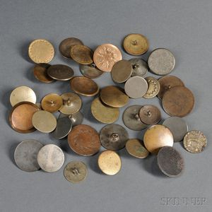 Thirty-nine Coin Buttons