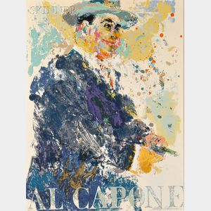 LeRoy Neiman (American, 1921-2012)      Al Capone (The Mob)