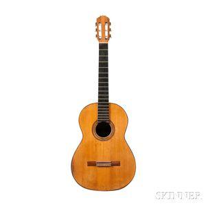 Spanish Classical Guitar, Conde Hermanos, Madrid, 1960