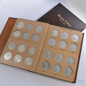 Near Complete Set of Morgan Dollars