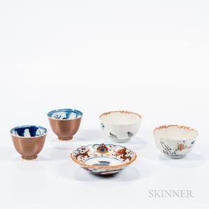 Five Porcelain Items
