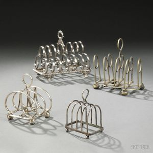 Four Toast Racks