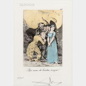Salvador Dalí (Spanish, 1904-1989)      Qué ramo de bonitas cerezas!