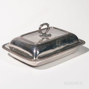 George III Sterling Silver Covered Vegetable Tureen