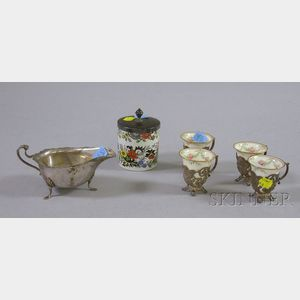 Group of Silver and Silver Plated Serving Items