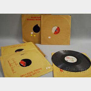 "One Duke Ellington Glass Transcription Master Disc ""Pt. 6/Pt. 8, Symphony Hall   Concert, Boston,"" and Two Other Transcription Discs"