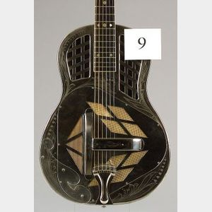 American Resonator Guitar, National String Instrument Company, 1929, Style 3, Tricone