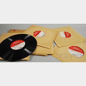 Eleven Capitol Records Transcription Discs