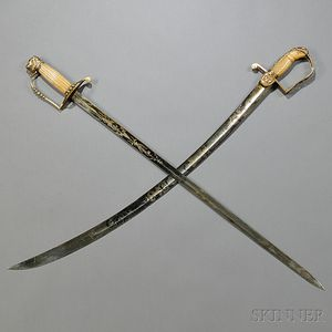 Two Federal Period Swords