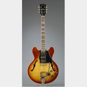 American Electric Guitar, Gibson Incorporated, Kalamazoo, 1967, Model ES 345 TD