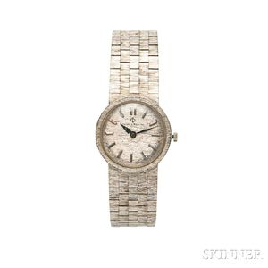 Baume & Mercier 14kt White Gold Lady's Wristwatch