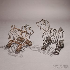 Two Wire Rod Dog-form Magazine Holders