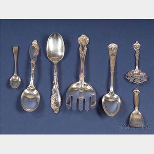 Group of Twelve Sterling Flatware Items