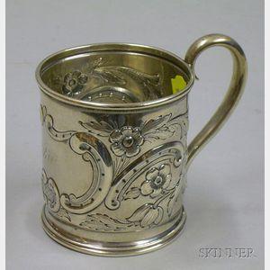 American Coin Silver Mug