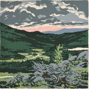 Neil Welliver (American, 1929-2005)      Briggs Meadow