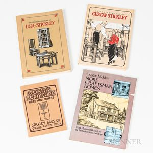 Four Arts and Crafts-related Paperback Books