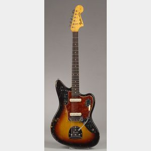 American Electric Guitar, Fender Musical Instruments, Santa Ana, 1964, Model Jaguar