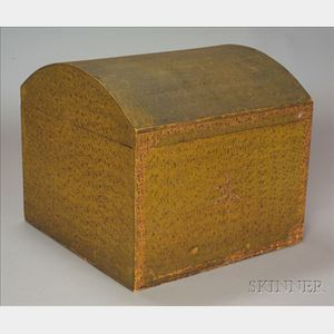 Putty Painted Dome-top Box