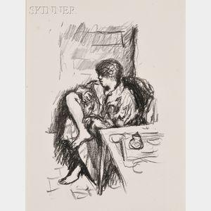 Pierre Bonnard (French, 1867-1947)      La toilette assise