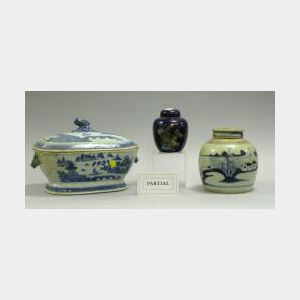 Six Chinese Porcelain Items