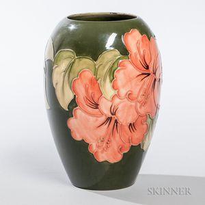 Walter Moorcroft Pottery Poppy Vase