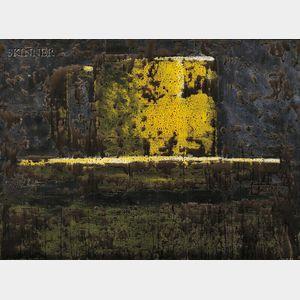 Aaron Fink (American, b. 1955)      Yellow Cup