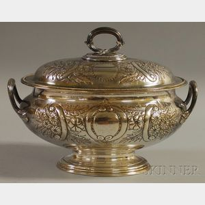 Elkington & Co. Silver-plated Two-handled Covered Tureen